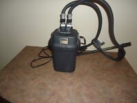 SOLD PPU - Fluval 105 Cannister filter