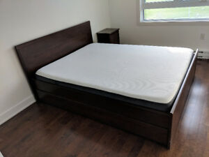 1 year old Ikea (Brusali) bedroom set 500$