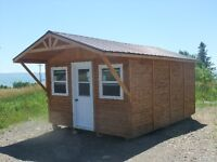 Panel Concepts - Cedar Storage Sheds and Bunkies