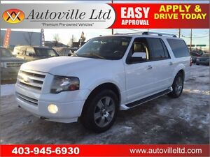 2010 Ford Expedition MAX LIMITED 8 PASS LEATHER