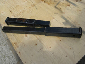 TRAILER HITCH EXTENSIONS