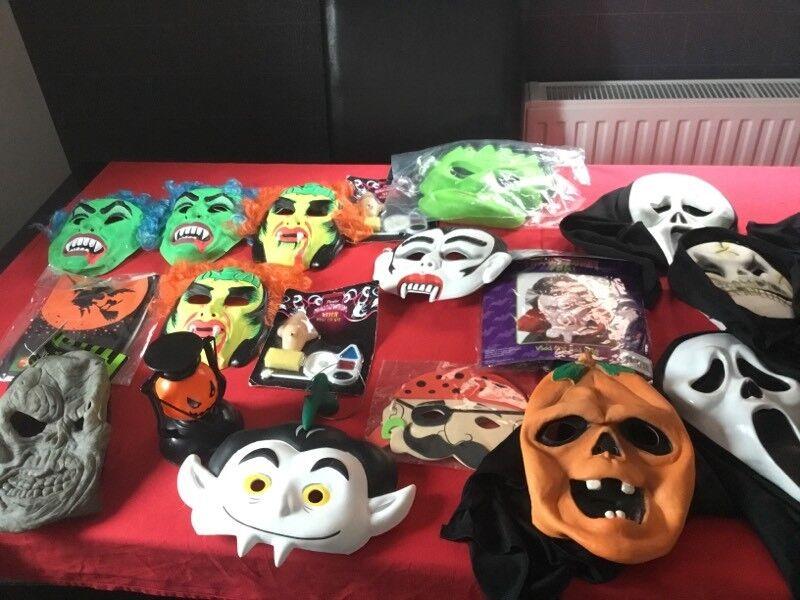 Kids masks for halloween