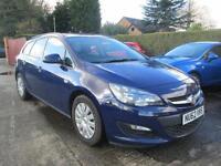 2013 Vauxhall Astra Estate 1.7 CDTi EcoFlex Exclusiv Blue