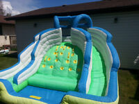 Inflatable Outdoor Water Park - Liquid Motion