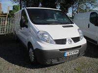 2012 Renault Trafic 2.0dCi EU5 Eco LL29 Phase 3 Sat Nav LL29dCi 115 sld 1 owner