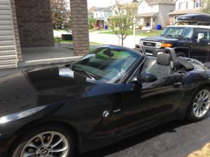 BMW Z4 2005 cabriolet automatique 2.5i