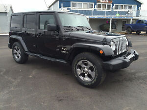 2016 Jeep Wrangler Unlimited Sahara $281.63 bi-weekly! OAC*