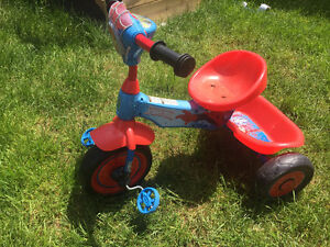 Tricycle Spiderman