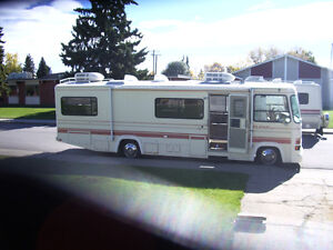 1990 Fleetwood Flair, Class A, 30', Province Safety, Twin Beds,