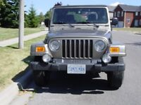 2003 Jeep TJ Sahara 4.0 6 Cyl. Automatic, Low Mileage