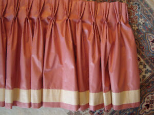 Formal Pinch Pleated Window Valance