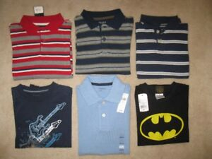 Boys Shirts Lot Size 5/6