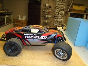 wanted rc nitro and electric