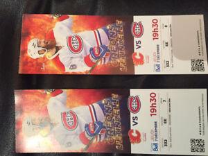 Dec 7,2017,Mtl Canadiens vs Calgary Flames at Bell Centre
