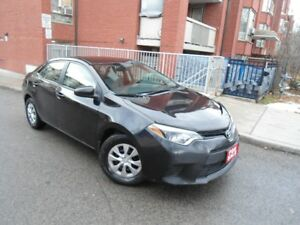 2015 TOYOTA COROLLA , DEALER SERVICED , LOADED , CLEAN CAR !!!