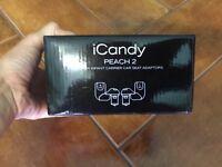 ICandy peach 2 lower car seat adaptors