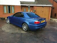 2002 BMW M3 CONVERTIBLE - ESTORIL BLUE