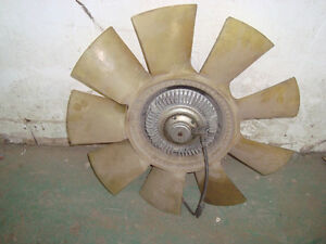 Ford 6.0 Diesel Turbo and Cooling Fan