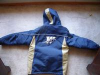 Blue Bomber coat