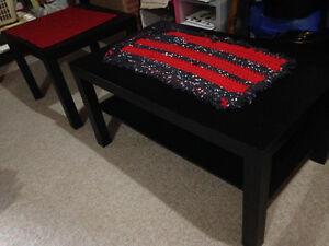 Beautiful Dark Brown Coffee & Corner Tables (IKEA)