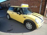 MINI 1.6 One PANORAMIC ELECTRIC GLASS ROOF CANARY YELLOW FINANCE WARRANTY INC
