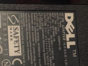 Dell computer AC DC adapter
