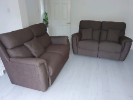 Lazy Boy fabric 2 x 2 sofa