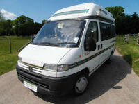 Auto Sleeper Symbol - 2 Berth - 3 Traveling Seats - Petrol LEZ Compliant