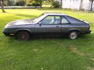 1986 Dodge charger Need Gone This Week
