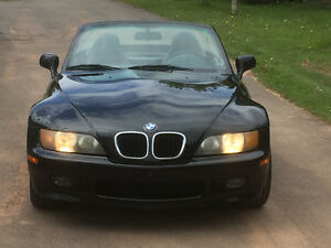 1999 BMW Z3 Black Convertible