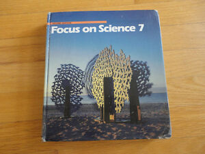 Focus on Science 7 hardcover textbook