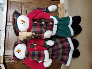Home & Gift Snowman Family Collection and more