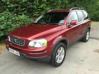 59 REG - VOLVO XC90 2.4 D5 AWD GEARTRONIC AUTOMATIC 4X4 7 SEATER TURBO DIESEL