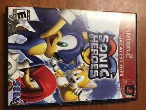 Sonic Heroes Greatest Heroes for PlayStation