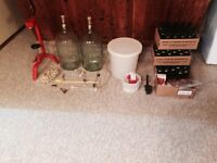 Wine and beer making equipment
