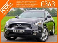 2013 Infiniti FX FX30d 3.0 Turbo Diesel 235 BHP GT Executive 7 Speed Auto Sunroo