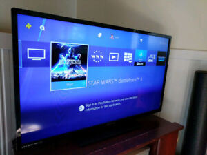 PS4 w/ 2 controllers + Star Wars Battlefront II