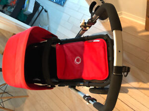 Bugaboo cameleon stroller red and grey - 350