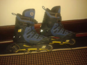 K2 PRO ROLLER BLADES (SIZE 13) LIKE NEW, CALL #226 344 5107