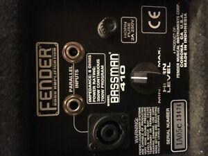 Fender Bassman 410 4x10 cab