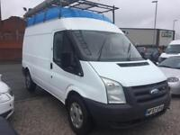 2007/57 Ford Transit 2.2TDCi Duratorq (130PS) FWD 350 MWB Hi ROOF WITH ROOF RACK