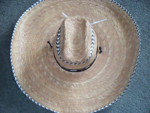 "AUTHENTIC MEXICAN ""SOMBRERO"" 21 1/2 in"