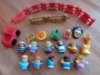Fisher Price Little People 12 characters and accessories