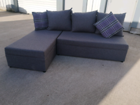 Grey fabric Corner sofa sofabed couch suite 🚚🚚