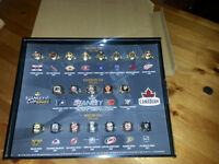 molson canadian stanley cup ring full set with display case