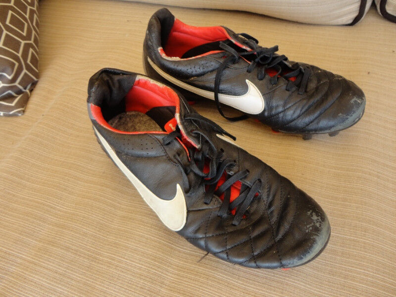 9904fc5940d0 Nike Better World Size 8 Soccer Shoes used but in decent Shape ...