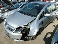 VAUXHALL ZAFIRA LIFE DAMAGED REPAIRABLE SALVAGE