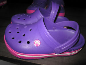 """Crocs"" (authentic Crocs), girls size 2, Brand New"