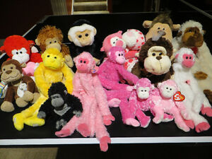 Collection Monkeys Singes - Many TY's Great condition West Island Greater Montréal image 2