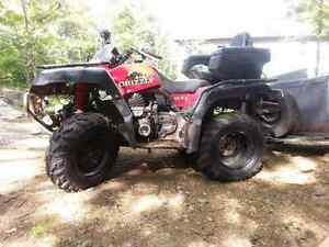 Yamaha grizzly 600
